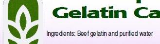 "Empty Clear ""0"" size Gelatin Capsules"