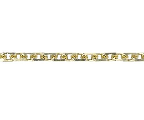 9ct or jaune à angle française Trace 19,1cm/19cm Bracelet