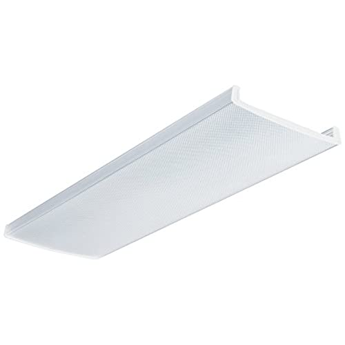 Fluorescent light fixture covers replacement amazon lithonia lighting d2lb48 acrylic diffuser for lb wraparound series 4 feet aloadofball Choice Image