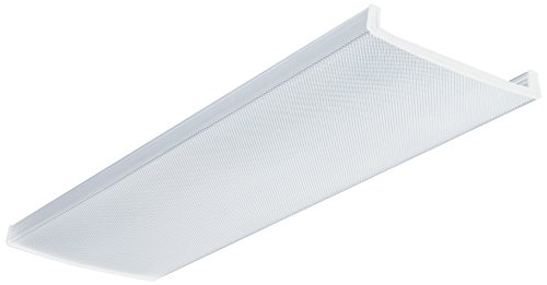 Lithonia Lighting D2LB48 Acrylic Diffuser for LB Wraparound Series, 4-Feet