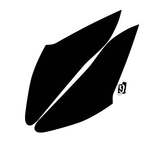 - Subject 9 - Fits: Hyundai Genesis Coupe Pre-cut vinyl overlay Taillight PLUS tint (2009 2010 2011 2012 2013 2014 2015 2016) DARK