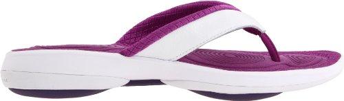 II' Modell Violett EU Strandschuhe 59 'EasyTone purple 36 2011 Damen J22105 Reebok white Flip Yaq6E
