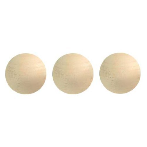 Dollhouse Miniature Playscale 3/4-Inch Wooden (Newel Ball Top)