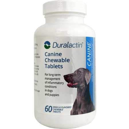 Duralactin Canine, 60 Chewable Tablets by Veterinary Products Laboratories