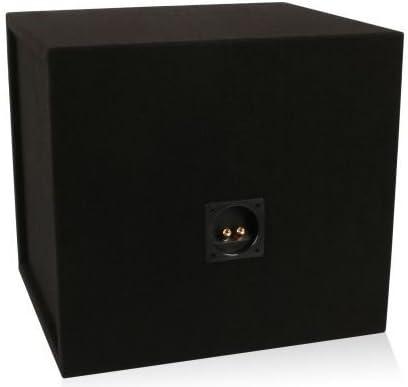 MDFS15 Belva 15-inch Car Subwoofer Box Sealed 3//4-inch MDF Prelined Polyfil