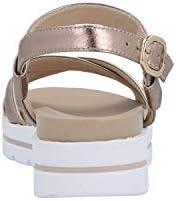 Nero Giardini P908213D Zeppa Bronze Sandales pour Femme