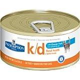 Hill's Prescription Diet k/d Feline Renal Health with Ocean Fish Canned Cat Food 24/5.5 oz Review
