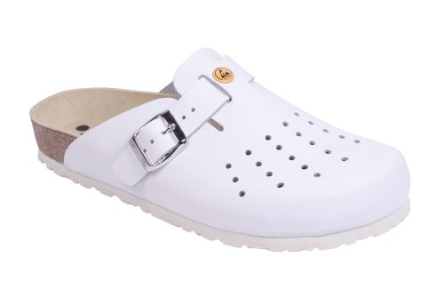 Weeger ESD Anti Static Clog Perforated - UK 6.5, White