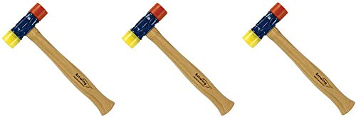 Estwing Rubber Mallet - 12 oz Double-Face Hammer with Soft/Hard Tips & Hickory Wood Handle - DFH12 (3)