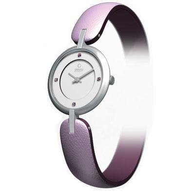 Obaku Harmony Womens Watch - Purple Band / White Face - V106LCCRQS-044