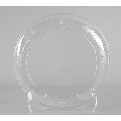 Designerware Plastic Dinnerware Plate, 9-Inch, Clear (180-Count) - Designerware Plastic Dinnerware