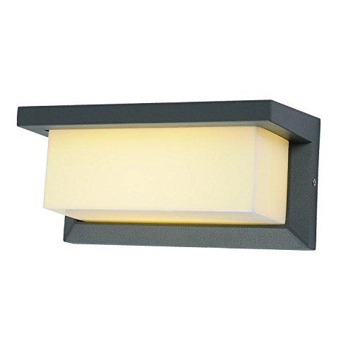Outdoor Lampada da parete a LED esterno impermeabile Lampada da parete in lega di alluminio corridoio cortile quadrato di parete Lampada da parete,1