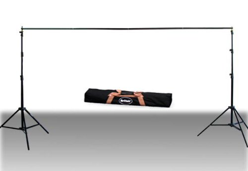 Heavy Duty Background Stand and Light Stand Combo 9ft x 12ft