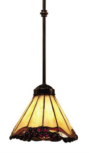 Elk 038-Ia Grape Trellis 1-Light Pendant, 27-Inch, Antique (Grape Trellis One Light)