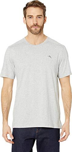 Tommy Bahama Men's Cotton Modal Knit Jersey T-Shirt Heather Grey Large ()