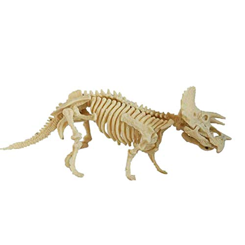 (Children Toys Dartphew Dinosaur Science Kit–Dig Up Fossils and Assemble Excavation Toys Complete Science kit for Kids Inspire Children's Imagination and Curiosity Gift ( Size:11x5.5x8cm ))