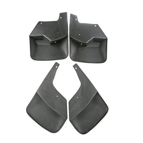 (Set of 4 Front and Rear Mud Flaps Splash Guards for Chevrolet SSR 2003-2006 Trailblazer 2002-2009)