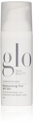 Glo Skin Beauty Moisturizing Tint SPF 30+ in Fair | Tinted Face Moisturizer with Sunscreen | 4 Shades, Dewy Finish (Best Sunscreen For Pale Skin)