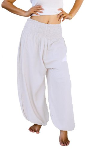 siam-secrets-unisex-alibaba-harem-beach-yoga-pants-one-size-white
