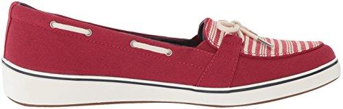 Sneaker Di Windham Stripe Per Donna Grasshoppers Rosso