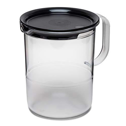 Tupperware Serving Crystal Juice/Water Jug  Transparent, 1.2 L