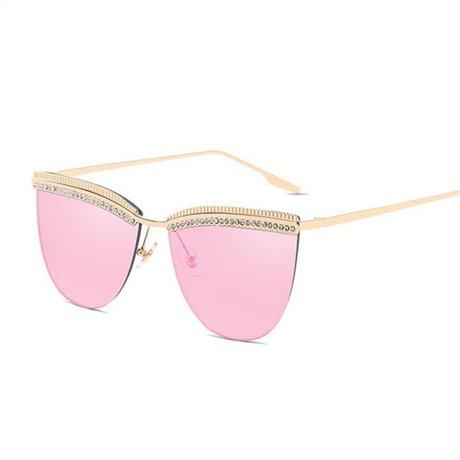 Amarillo Pink Gafas de diseñador sol para de doble de Marco Gafas de moda de mujer corte mujer Puente sol vintage GGSSYY Gafas de 1xqBdd