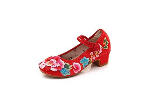 Red Vestir Zapatos De Mujer Satén Lazutom Para ZFYqqR
