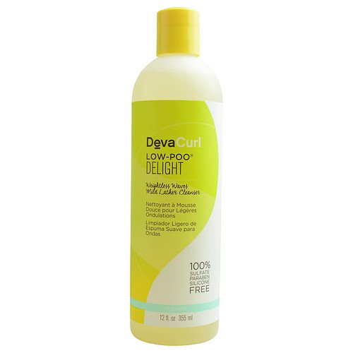 DevaCurl Low-Poo Delight, 12 oz. Deva Hair Products 850963006195