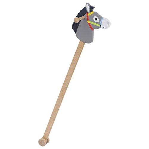 Goki Donkey Hobby-Horse ''Linus'' Outdoor Stick Horse