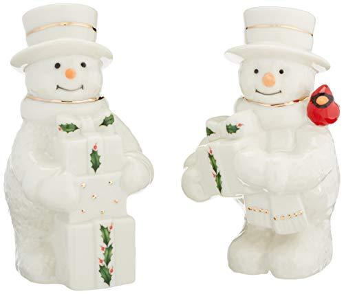 Lenox 879212 Happy Hollydays Salt & Pepper, Multicolor -