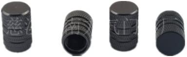 Leayao Lot de 5 Bouchons Anti-poussi/ère en Aluminium pour Valve de Pneu de Voiture