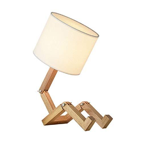 Nordic Creativo Lámpara mesa europea Dormitorio moda clásico ...