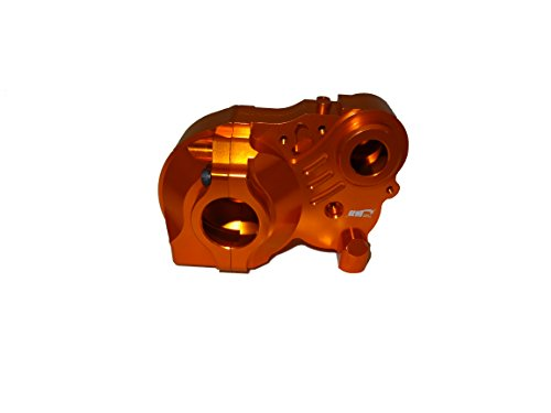 Baja Truck Parts - King Motor Orange Aluminum 3 Piece Transmission Fits HPI Baja 5B, 5T, SS, 2.0, and King Motor KSRC-001 and KSRC-002, T1000 Trucks and Rovan Sport Buggies and Trucks and some other Bajas