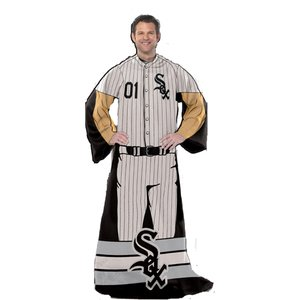 The Northwest Company Chicago White Sox Comfy Wrap (Uniform)