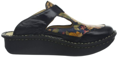 Alegria Women's Classic Clog Cork Black Pull Up free shipping shop for buy cheap outlet locations clearance new styles MOmWu4