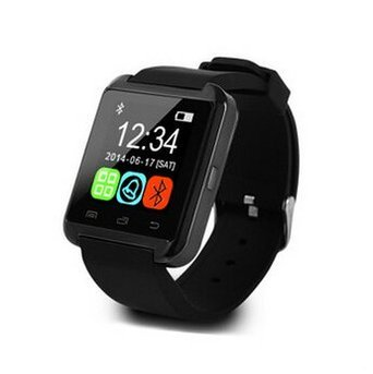 STK Bluetooth 4.0 Smart Watch Bracelet for Samsung S5 / S6 / S6 Edge/Note 2/3 / 4, Nexus 6, HTC, Sony and Other Android Smartphones - Black