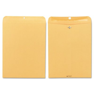(Clasp Envelope, 12 x 15 1/2, 32lb, Brown Kraft, 100/Box)