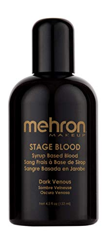 Mehron Makeup Stage Blood (4.5 Ounce) (Dark Venous)
