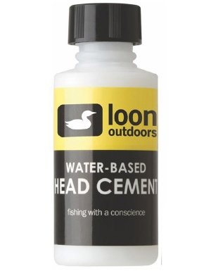 Fly Head Cement - Loon Outdoors Water Based Head Cement