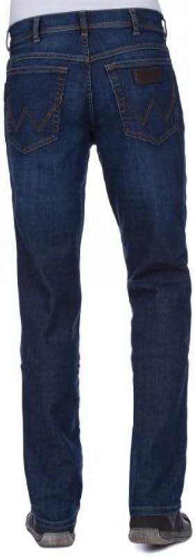 Wrangler Texas Stretch spodnie męskie - zwężany 44W / 32L: Odzież