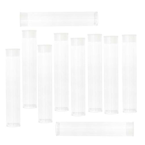 Clear Storage Tubes Inches Long