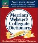 Merriam-Webster's Collegiate Dictionary, Merriam-Webster, Inc. Staff, 087779460X