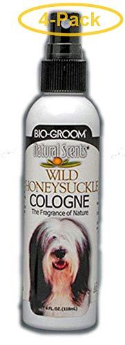Bio-groom Natural Scents Wild Honeysuckle Cologne 4 oz - Pack of 4