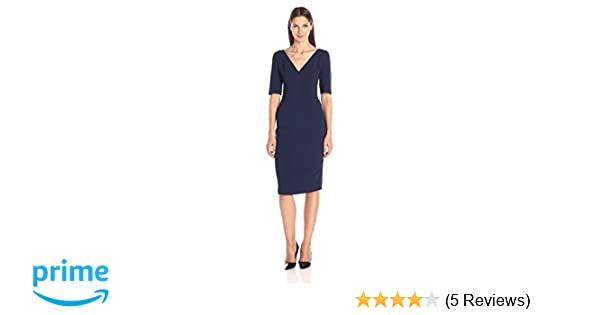 588af440 Amazon.com: Black Halo Women's Jeanette Sheath Dress, Pacific Blue, 2:  Clothing