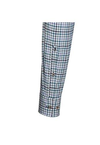 Seidensticker -  Camicia Casual  - A quadri - Con bottoni  - Uomo