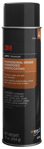 3M 03584 6 Pack 16 oz. Professional Grade Rubberized Undercoating (Best Spray Paint For Rubber)