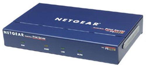 100base Tx Lan Auto Sensing - NETGEAR PS111W - Print server - parallel - Ethernet, Fast Ethernet - 10Base-T, 100Base-TX