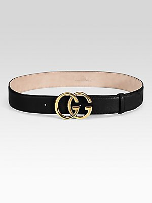 49dc72c04bf Amazon.com  Gucci Double G Buckle Belt  Clothing