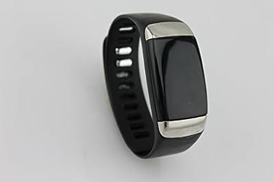 Koshiro Bluetooth 4.0 Smart Bracelet Wearable Activity Tracker Wristbands with Heart Rate Monitor wist Band and Sleep Tracker