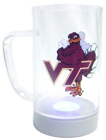 (Virginia Tech Hokies Glow Mug)